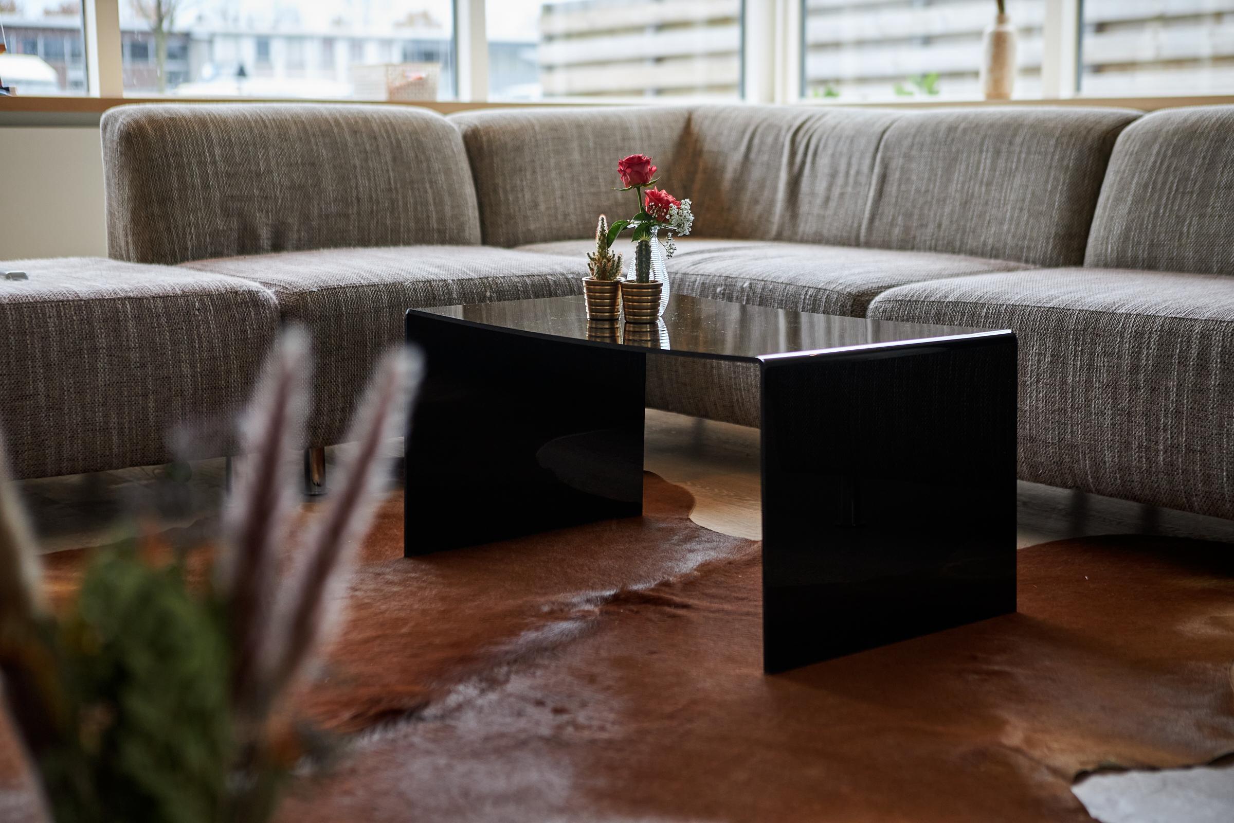 Table basse plexiglass
