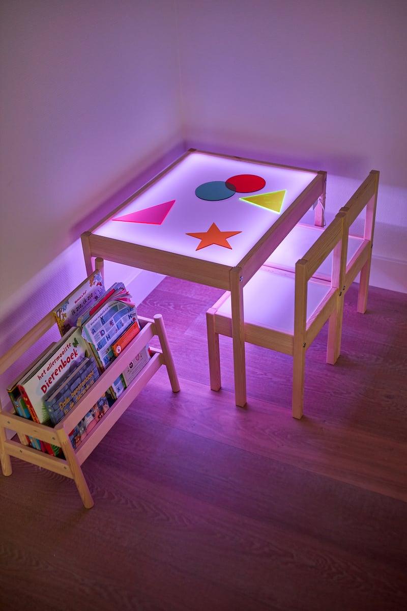 Table lumineuse enfant