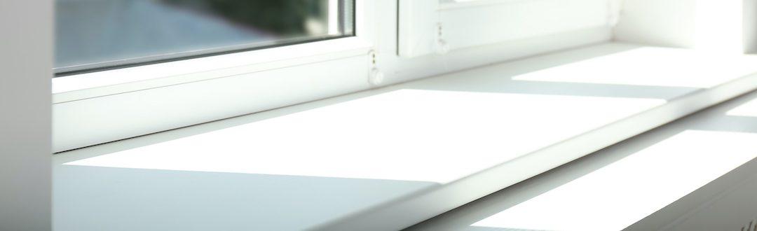 Rénovation d'un appui de fenêtre avec du plexiglass