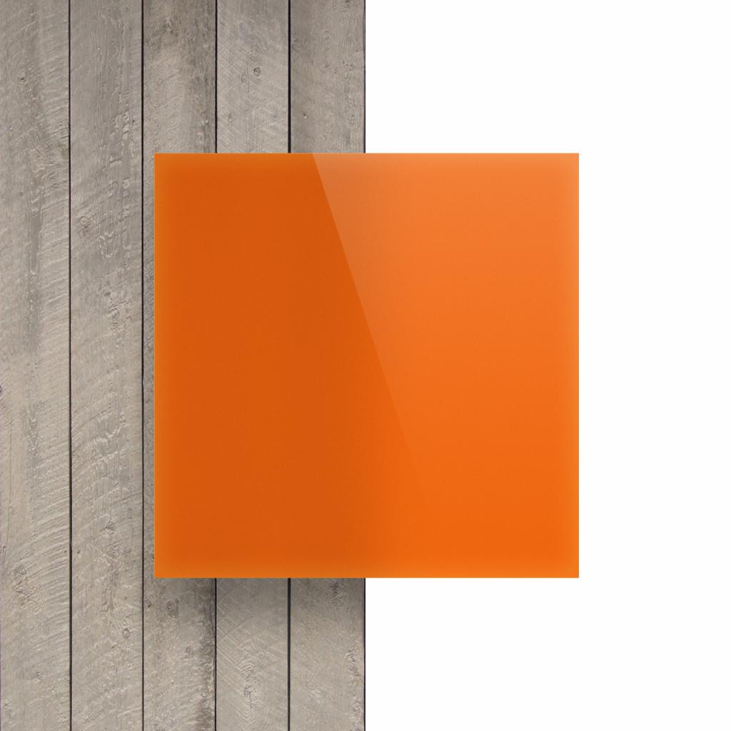 Devant Plexiglass rouge orange