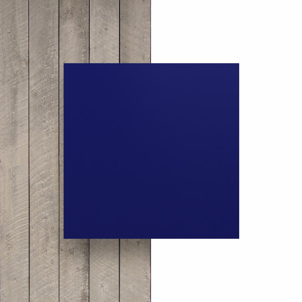 Devant plaque de lettres bleu nocturne mat