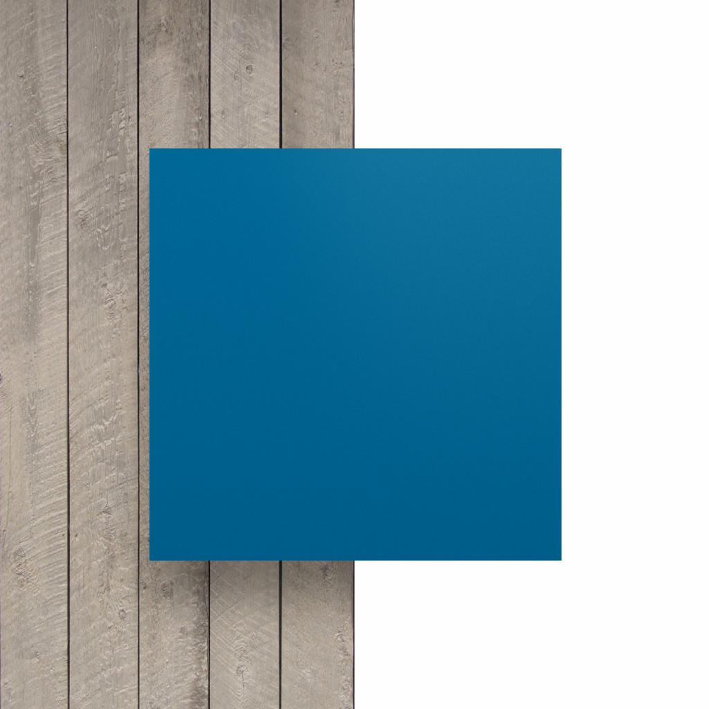 Devant plaque de lettres bleu signalisation mat