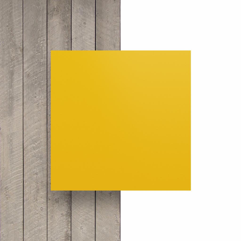 Devant plaque de lettres jaune signalisation mat