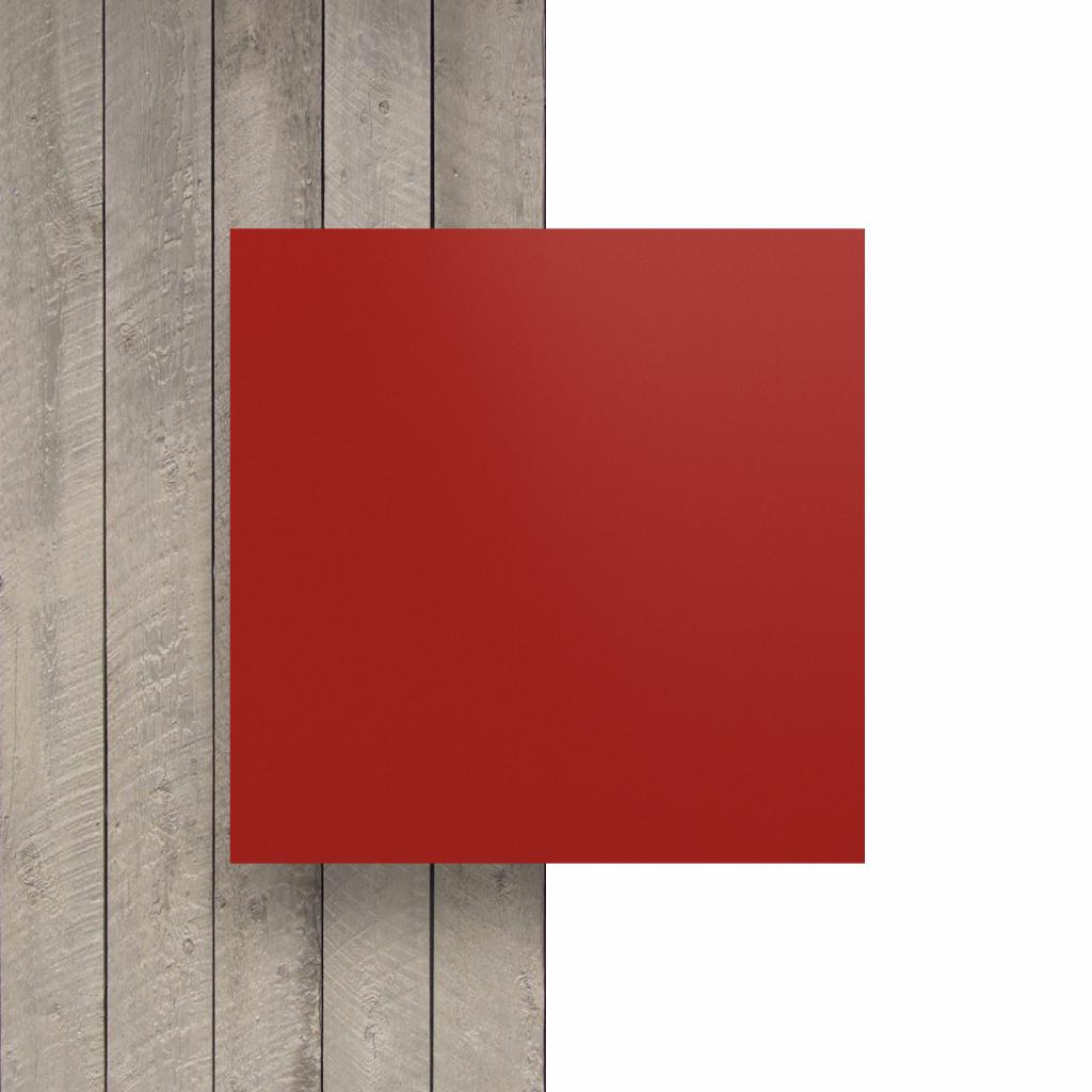 Devant plaque de lettres rouge de securite mat