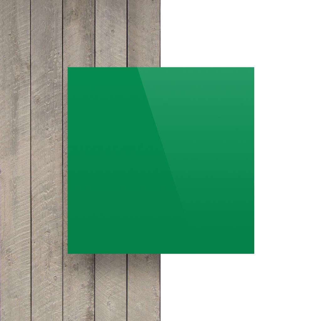 Devant plaque de lettres vert menthe brillant