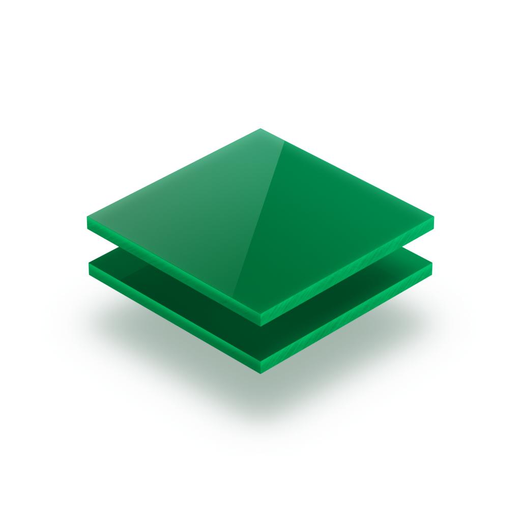 Panneau de lettres en plexiglass vert menthe brillant